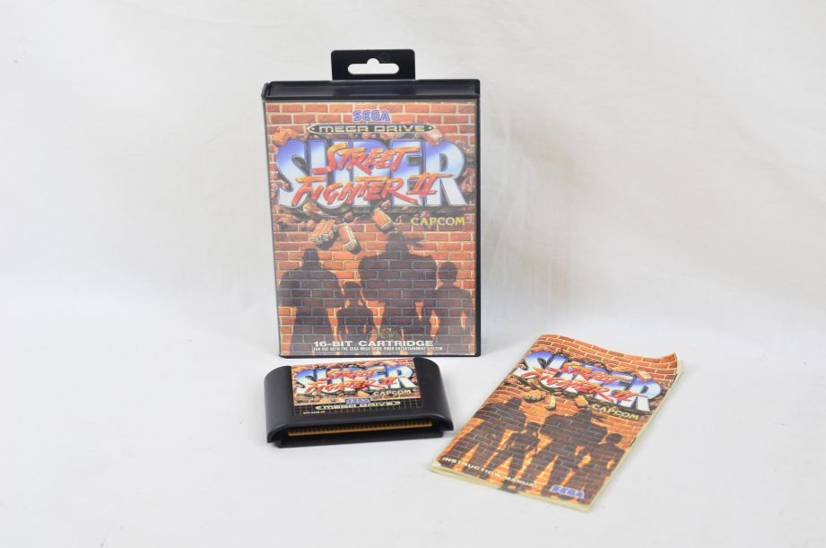 Sega Mega Drive Super Street Fighter II