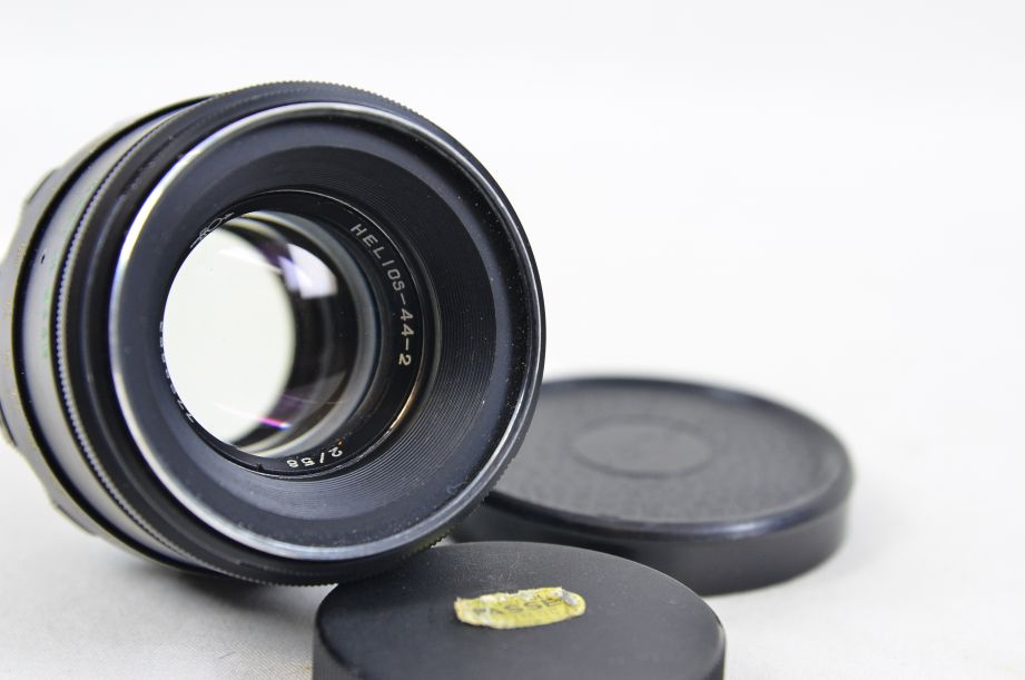 Helios 44-2 58mm f/2 Prime Lens - M42 Screw Mount