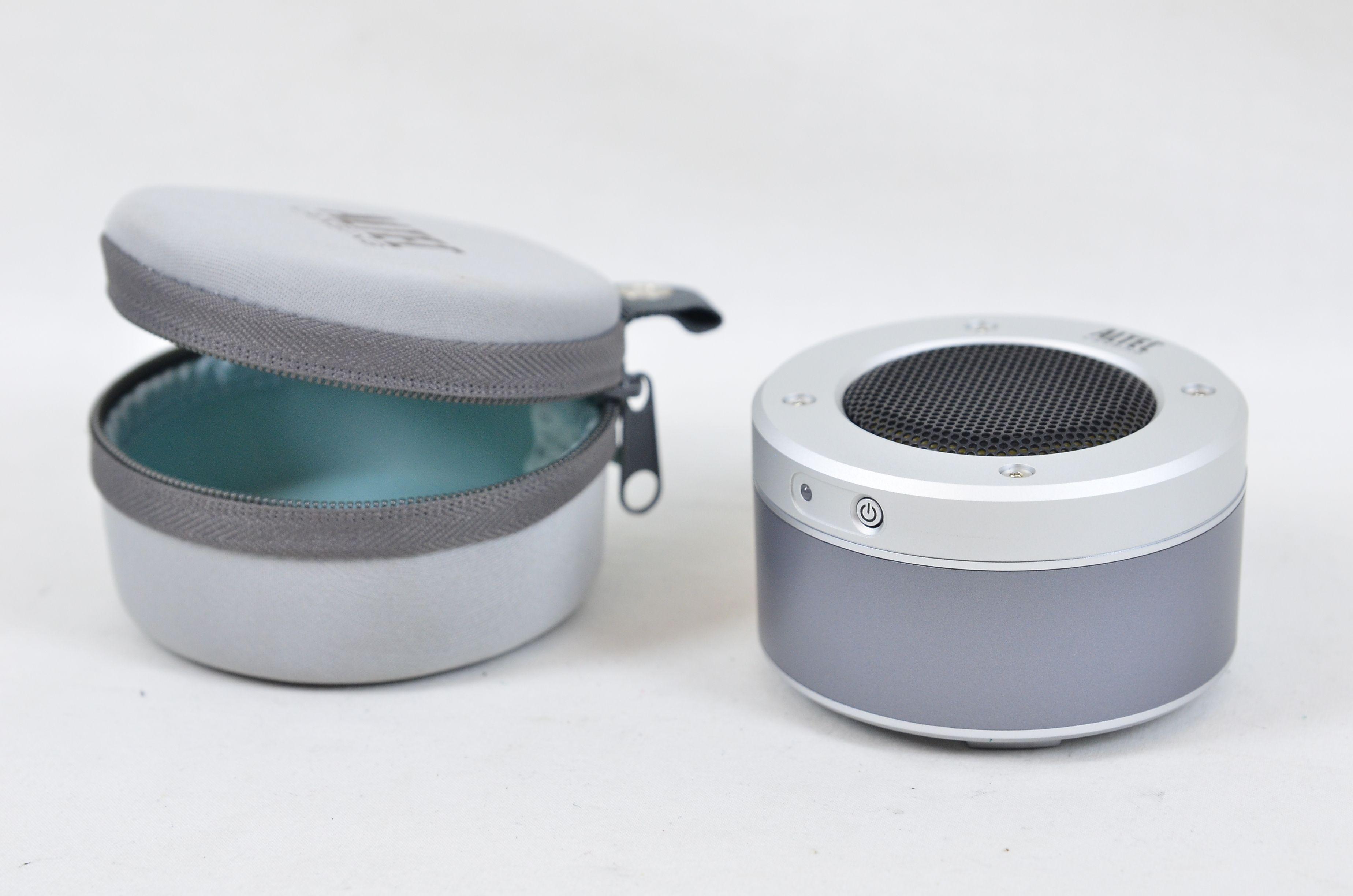 Altec Lansing iM-237 Orbit Portable Speaker for MP3 Players - Silver Thumbnail 1