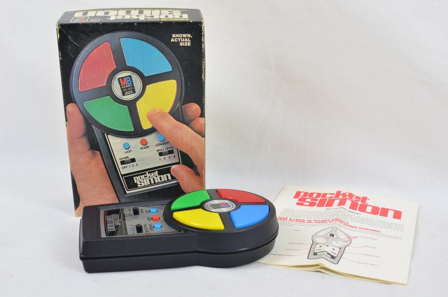 Vintage Pocket Simon Electronic Hand Held Game By MB Electronics