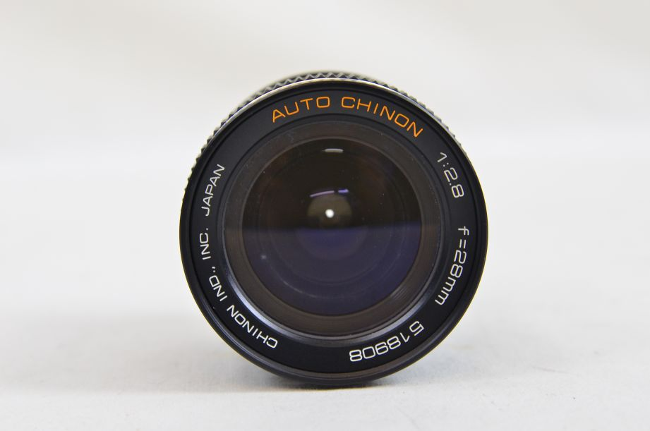 Chinon 28mm F2.8 M42 Screw With Canon EOS Bayonet Adaptor 3
