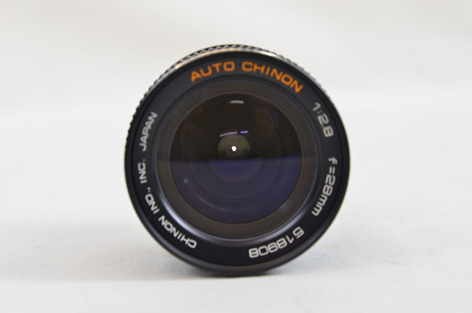 Chinon 28mm F2.8 M42 Screw With Canon EOS Bayonet Adaptor 4