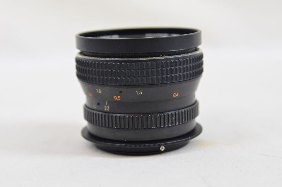 Chinon 28mm F2.8 M42 Screw With Canon EOS Bayonet Adaptor 7