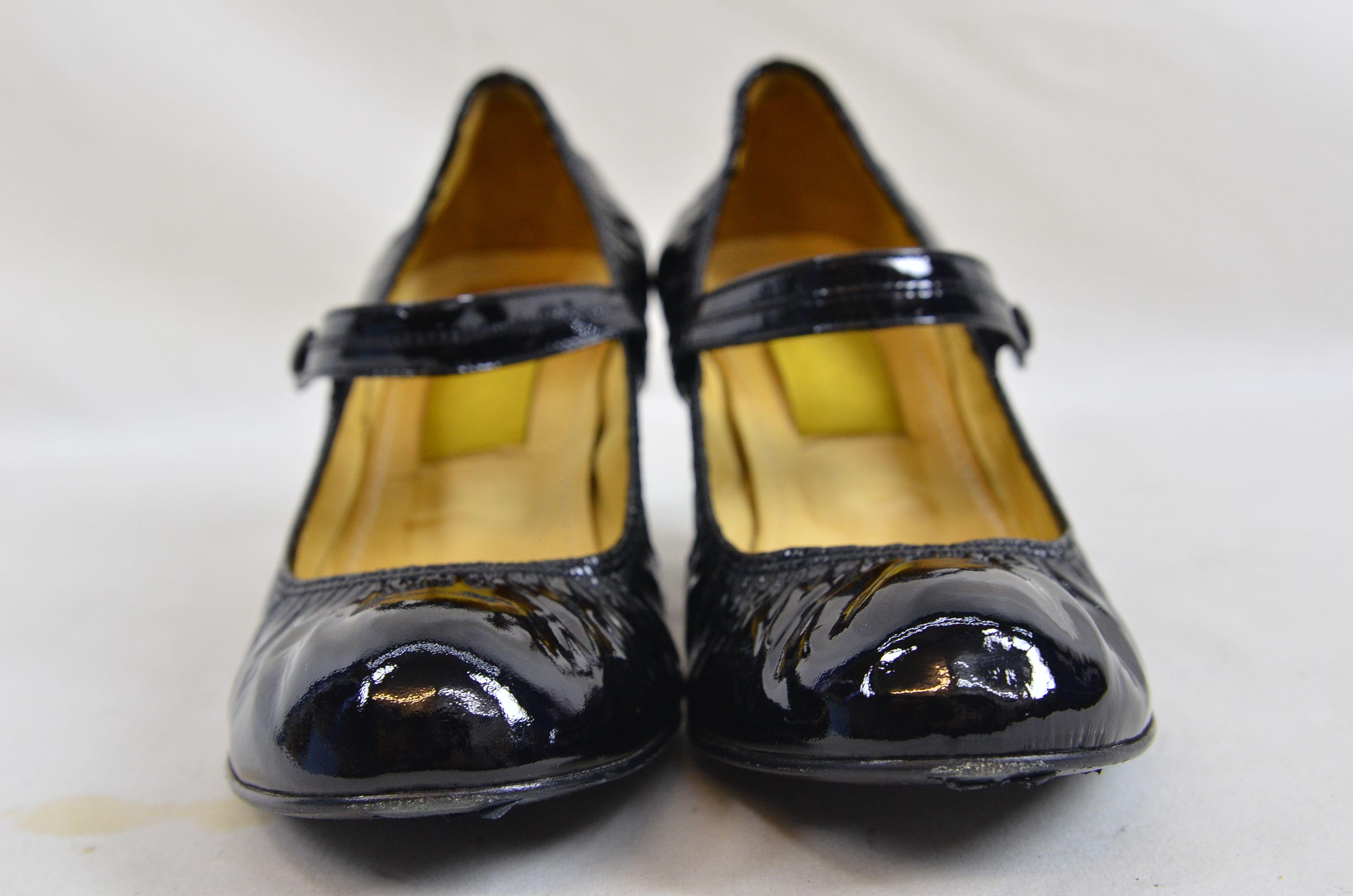 bdd485b15ae Lanvin River 2007 Ballerinas Bride Velvet Lamb Heel Ballet Black Shoe 2.  Open Full-Size Image