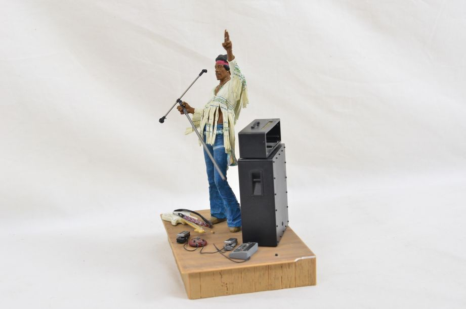 Mcfarlane Jimmy Hendrix At Woodstock Aug 18th 1969 Action Figure Diorama 2