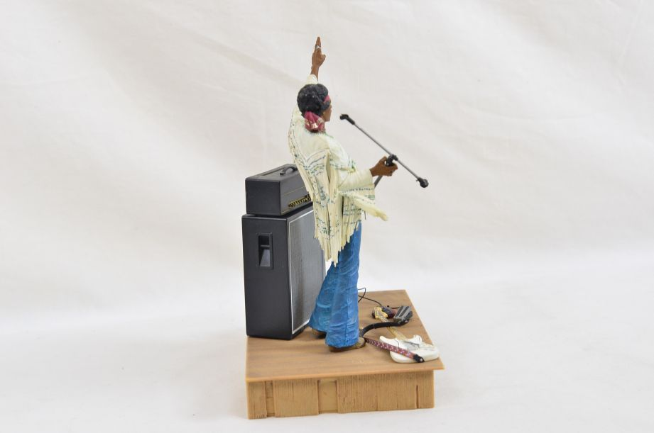 Mcfarlane Jimmy Hendrix At Woodstock Aug 18th 1969 Action Figure Diorama 4