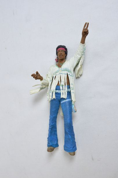 Mcfarlane Jimmy Hendrix At Woodstock Aug 18th 1969 Action Figure Diorama 8