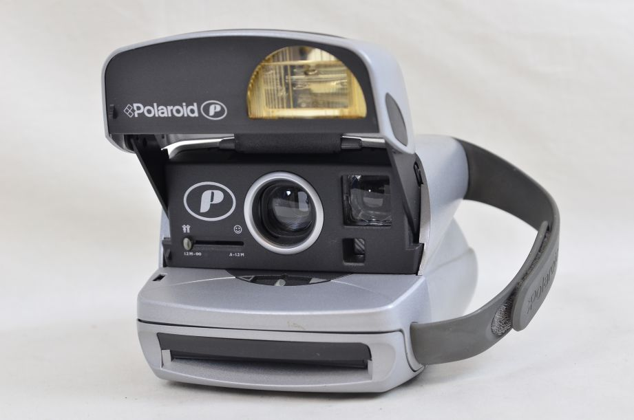 Polaroid P Silver Instamatic Instant Print Camera Impossible Project 600​