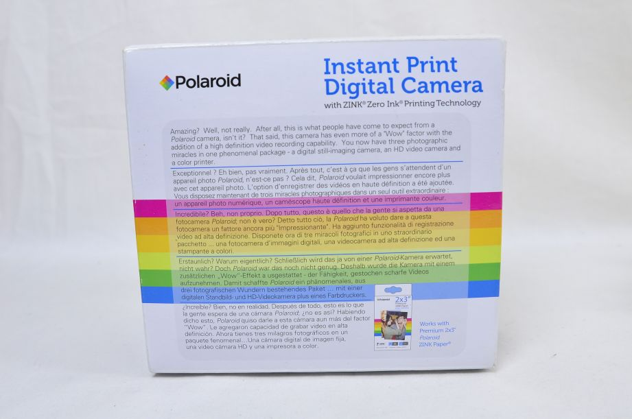 Polaroid Z2300 10 Megapixels Instant Print Digital Camera With Zero Ink Printing 12