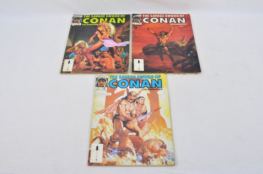 Vintage Marvel Magazine The Savage Sword Of Conan The Barbarian Collectable 1