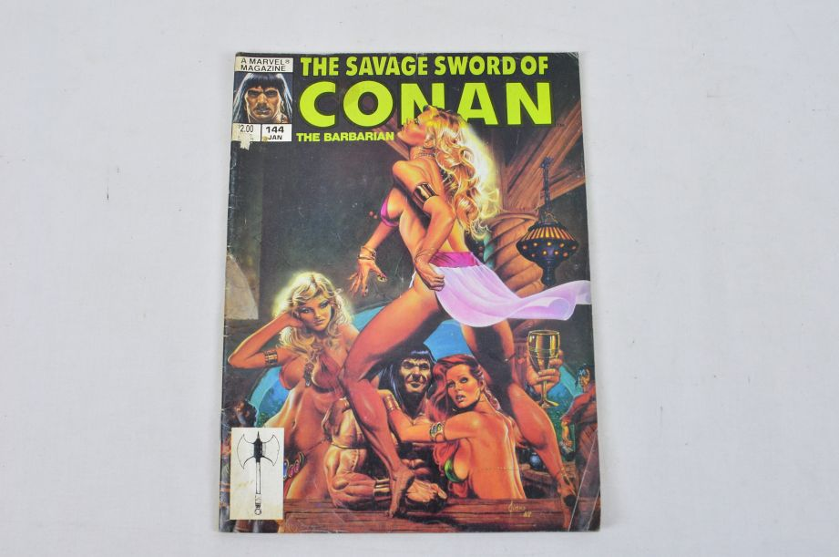 Vintage Marvel Magazine The Savage Sword Of Conan The Barbarian Collectable 2