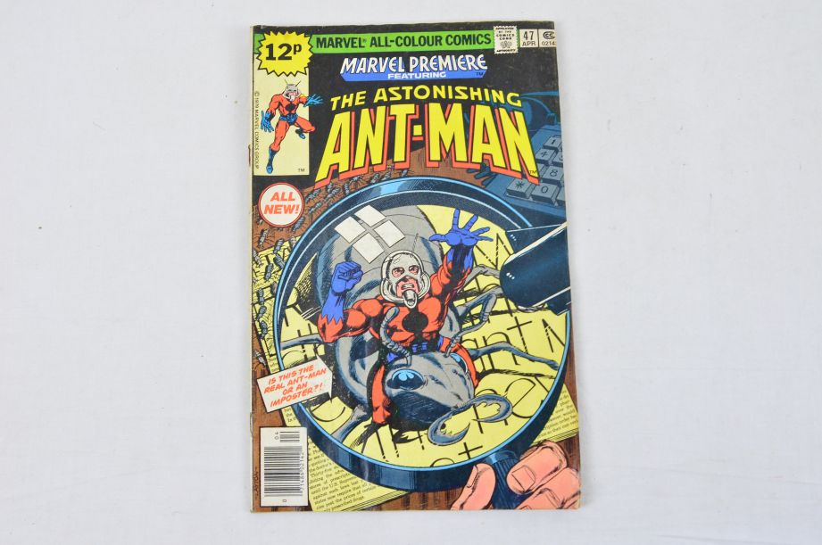 Vintage Marvel Comics Group The Astonishing Ant-Man Collectable Comic Antman 1