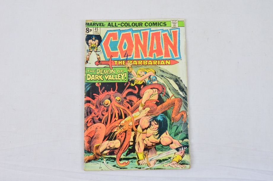 Vintage Marvel Comics Group King Conan Red Sonja Conan The Barbarian Collectable 2
