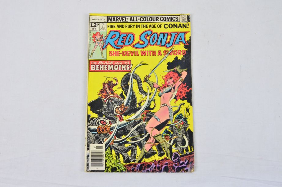 Vintage Marvel Comics Group King Conan Red Sonja Conan The Barbarian Collectable 3