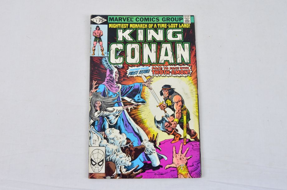 Vintage Marvel Comics Group King Conan Red Sonja Conan The Barbarian Collectable 4