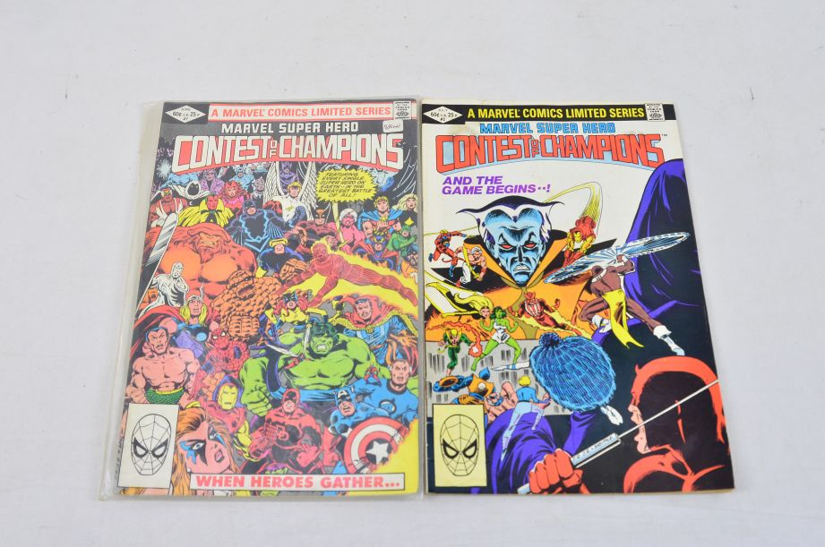 Vintage Marvel Comics Group Marvel Super Hero Contest Of Champions Collectable