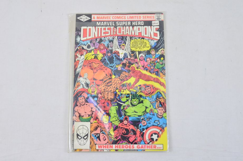 Vintage Marvel Comics Group Marvel Super Hero Contest Of Champions Collectable 2