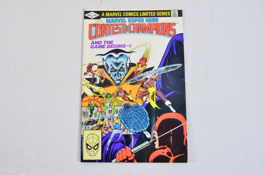 Vintage Marvel Comics Group Marvel Super Hero Contest Of Champions Collectable 3