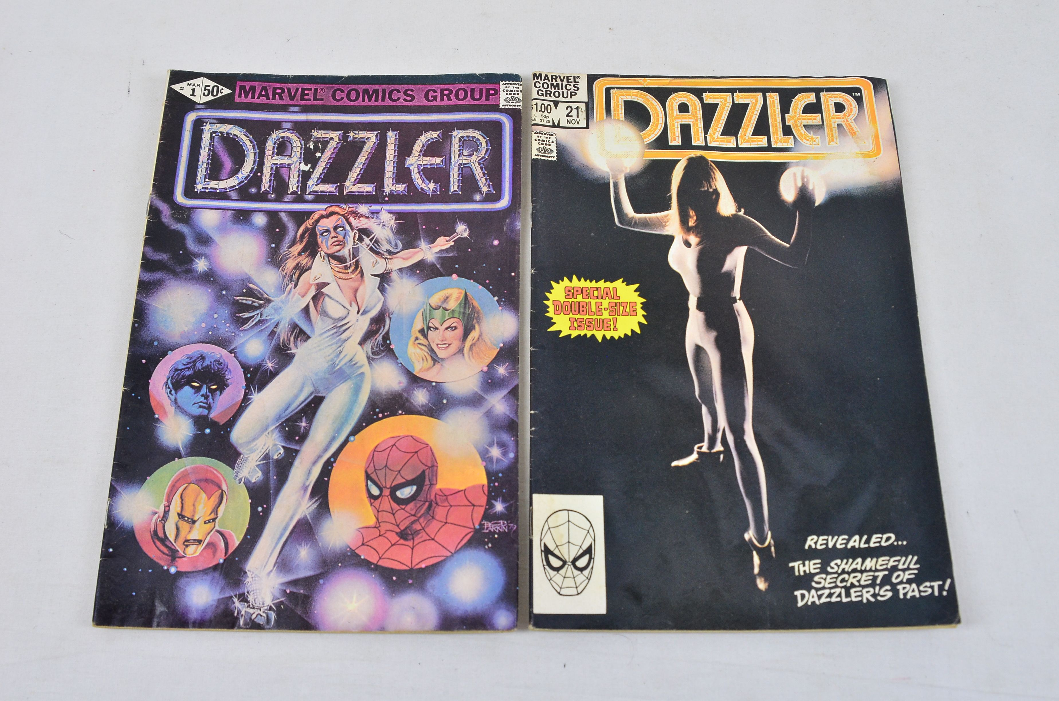 Vintage Marvel Comics Group Dazzler Collectable Comic Thumbnail 1