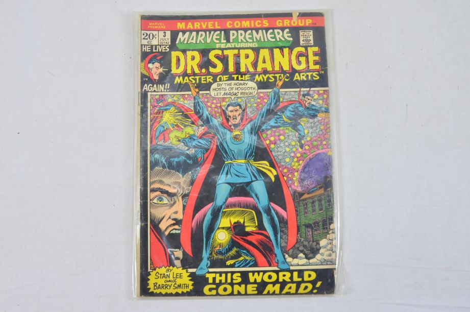 Vintage Marvel Comics Group Dr. Strange Master Of The Mystic Arts Collectable 1