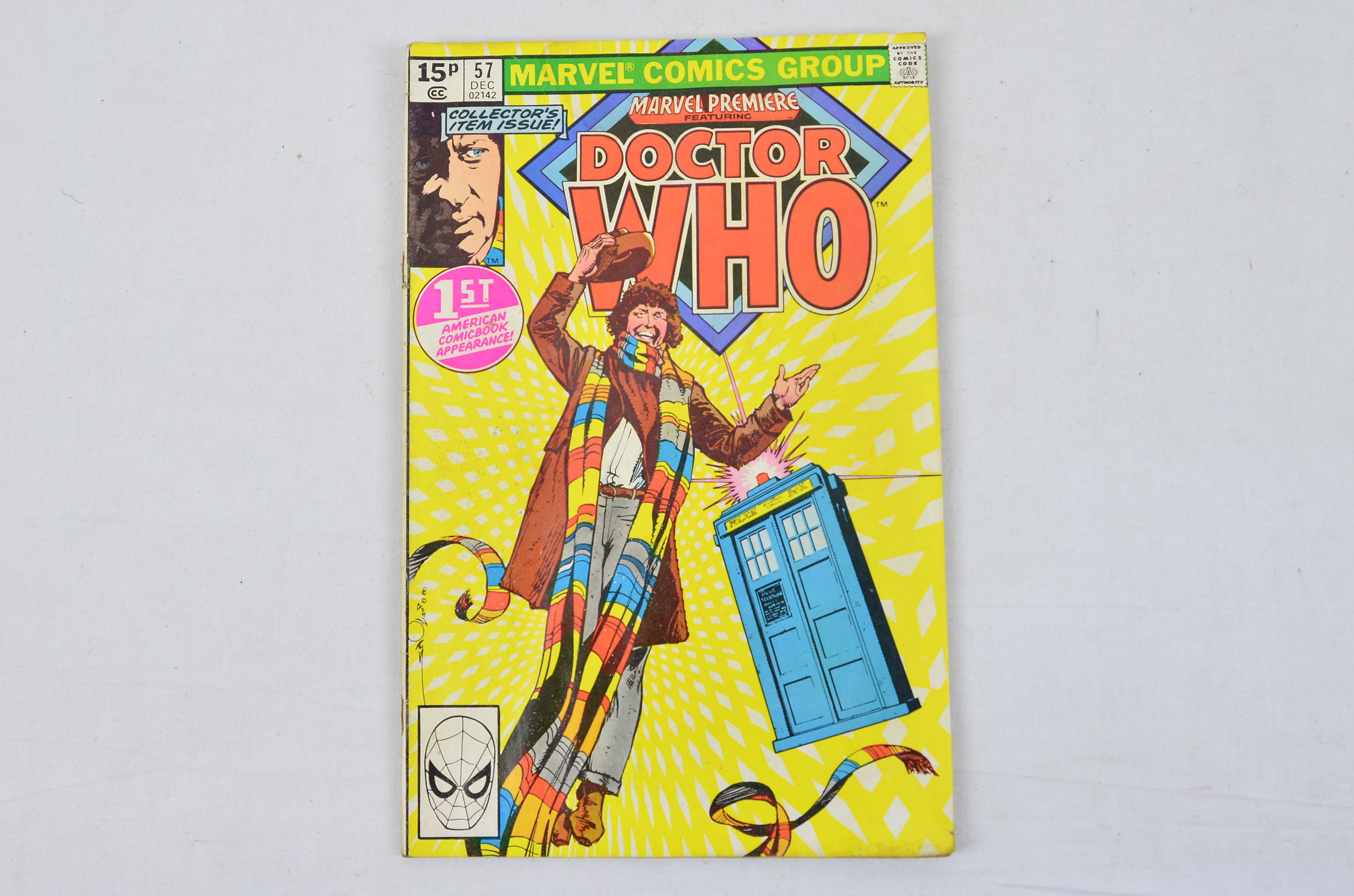 Vintage Marvel Comics Group Marvel Premiere Featuring: Doctor Who Collectable Thumbnail 1