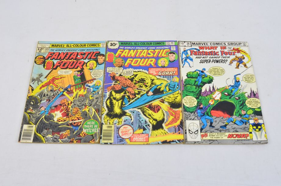 Vintage Marvel Comics Group What If The Fantastic Four Had Not Gained Powers? 1