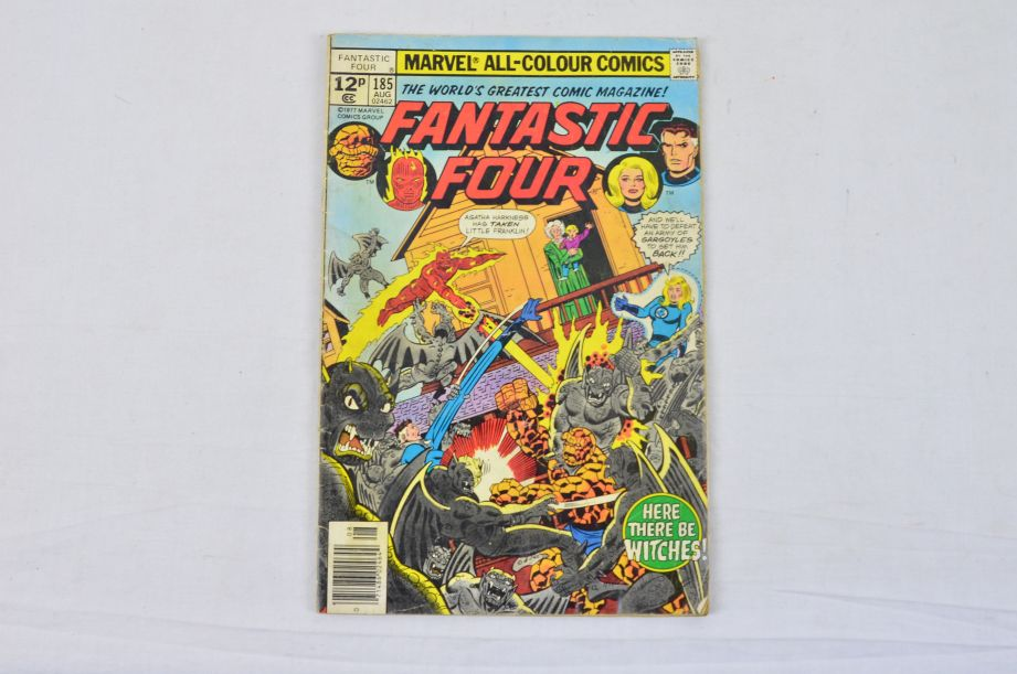 Vintage Marvel Comics Group What If The Fantastic Four Had Not Gained Powers? 2