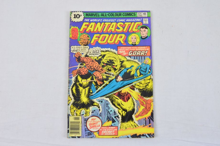 Vintage Marvel Comics Group What If The Fantastic Four Had Not Gained Powers? 3