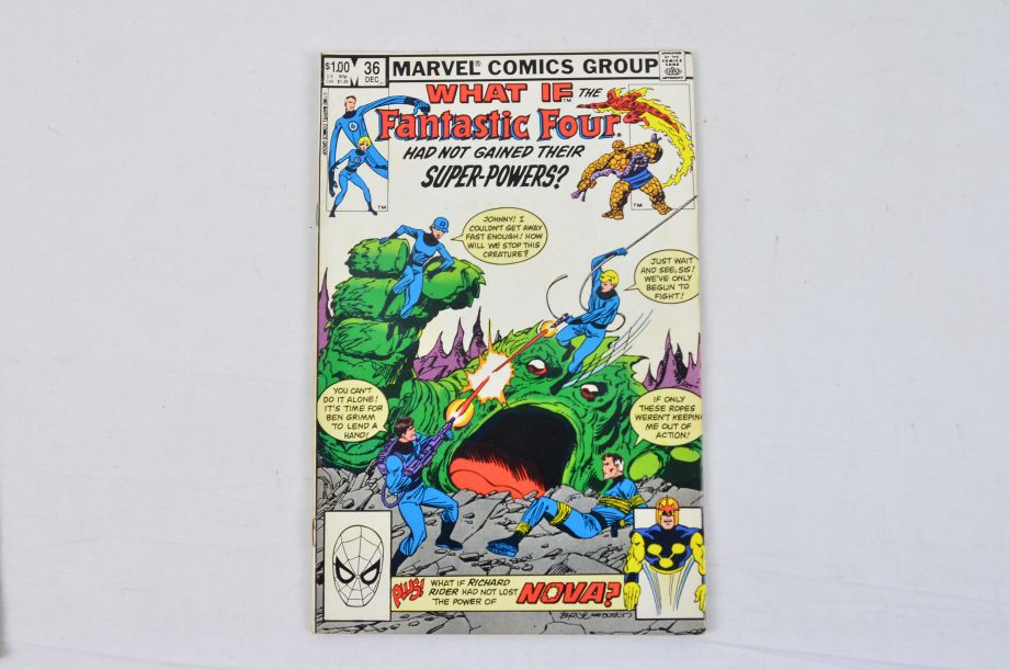 Vintage Marvel Comics Group What If The Fantastic Four Had Not Gained Powers? 4