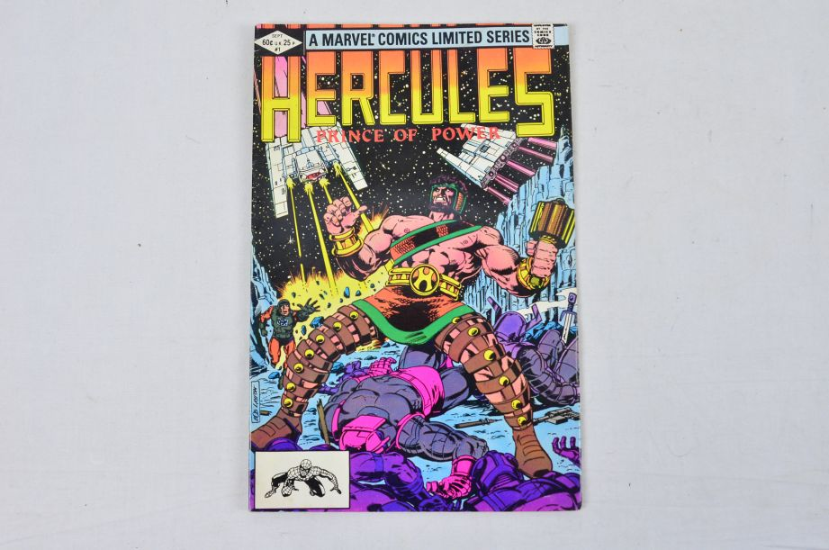 Vintage Marvel Comics Group Hercules Prince Of Power Daredevil Man Without Fear 2