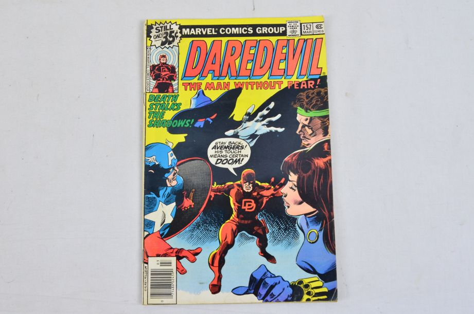 Vintage Marvel Comics Group Hercules Prince Of Power Daredevil Man Without Fear 3