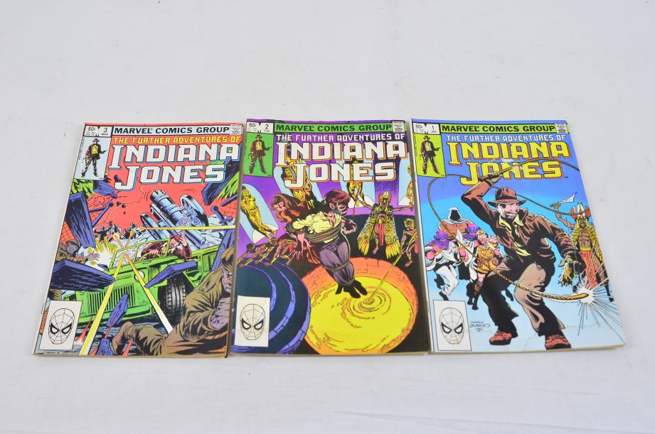 Vintage Marvel Comics Group The Further Adventures Of Indiana Jones Collectable 1