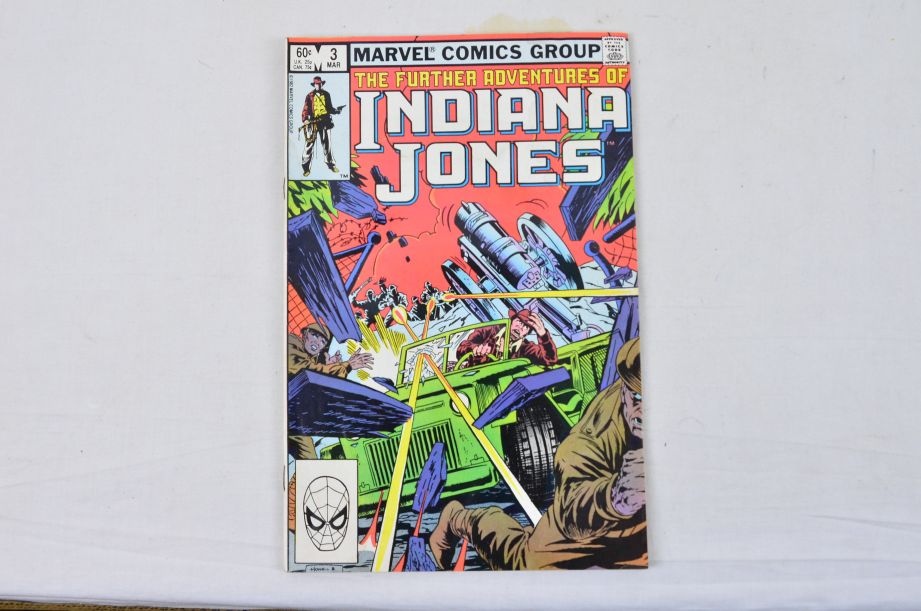 Vintage Marvel Comics Group The Further Adventures Of Indiana Jones Collectable 2