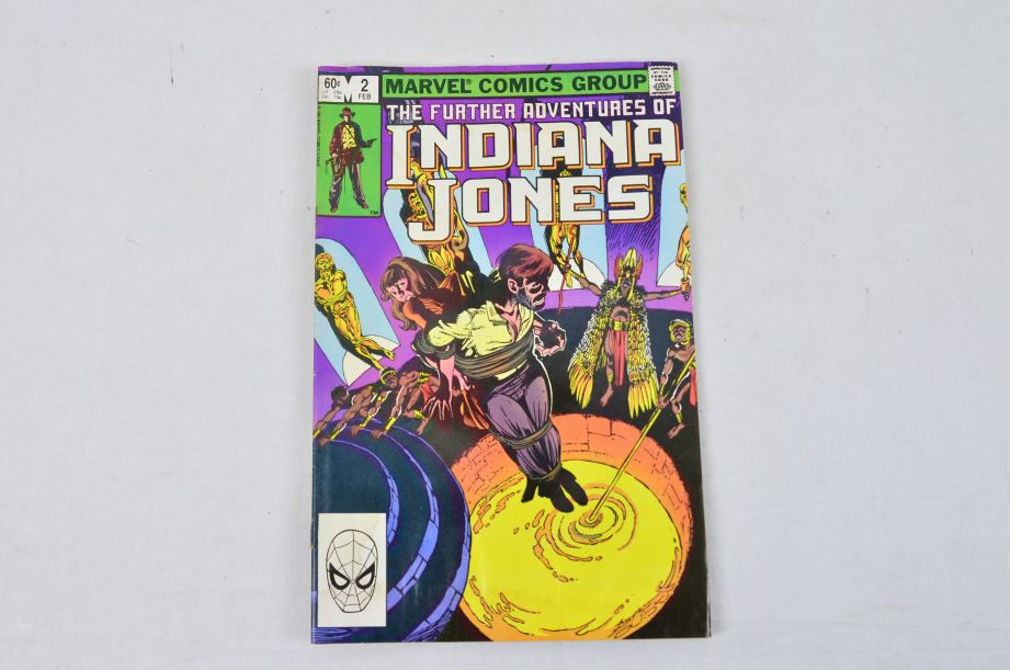 Vintage Marvel Comics Group The Further Adventures Of Indiana Jones Collectable 3