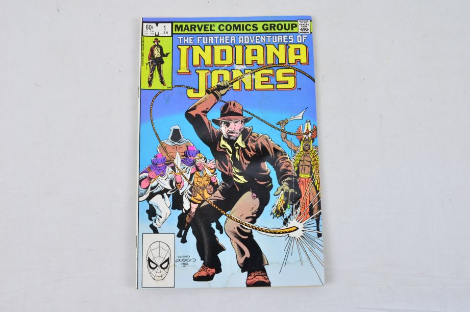 Vintage Marvel Comics Group The Further Adventures Of Indiana Jones Collectable 4