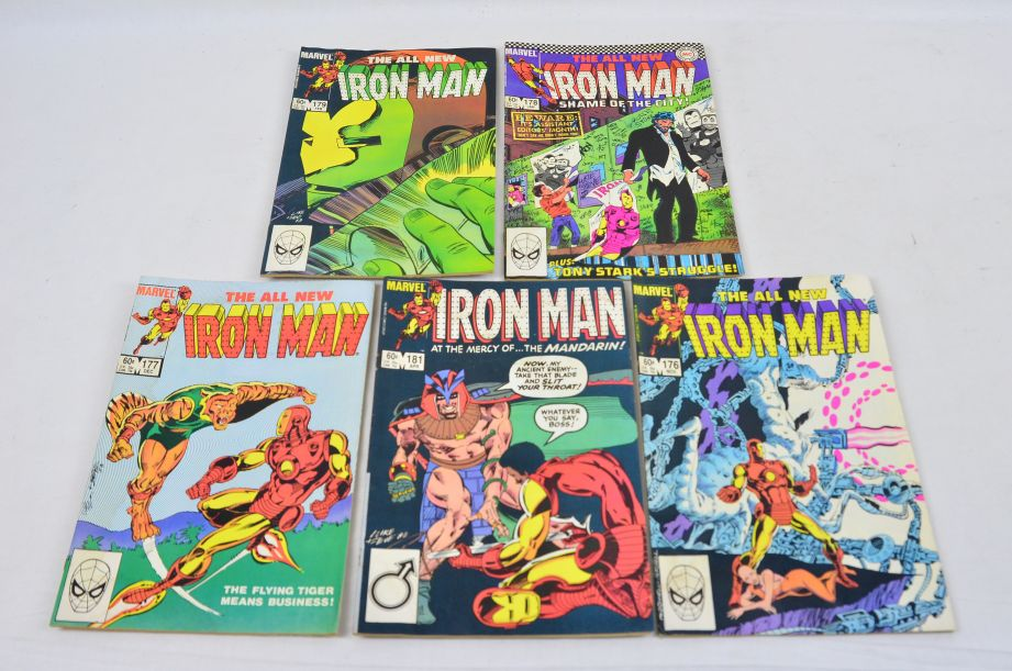 Vintage Marvel Comics Group The All New Iron Man Collectable Comic 1