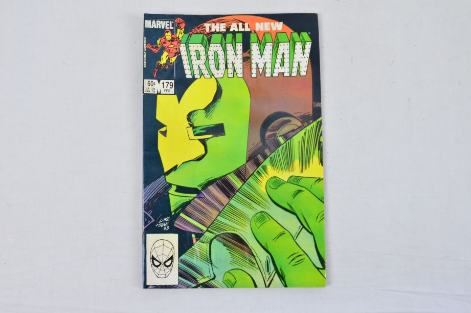 Vintage Marvel Comics Group The All New Iron Man Collectable Comic 2