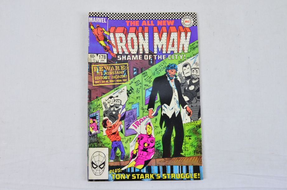 Vintage Marvel Comics Group The All New Iron Man Collectable Comic 3