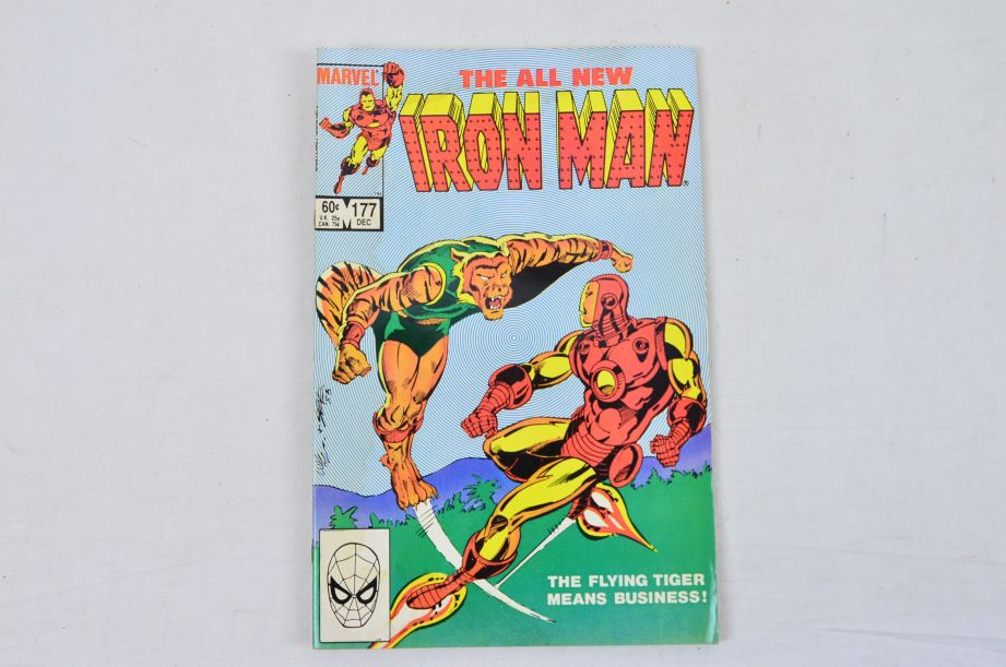 Vintage Marvel Comics Group The All New Iron Man Collectable Comic 4