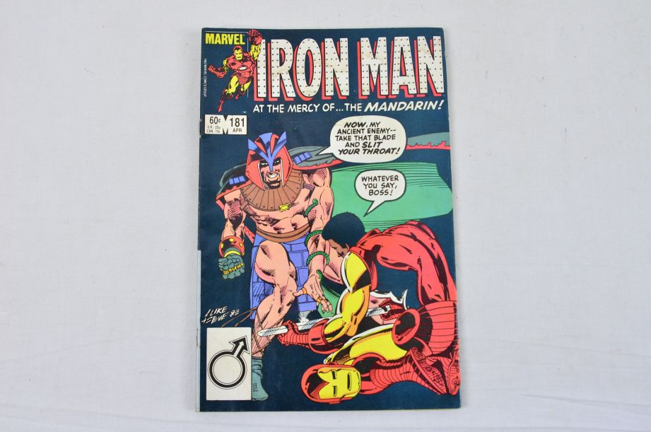 Vintage Marvel Comics Group The All New Iron Man Collectable Comic 5