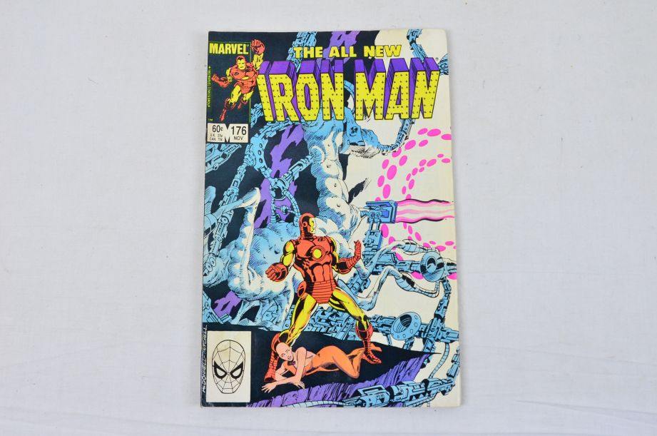 Vintage Marvel Comics Group The All New Iron Man Collectable Comic 6