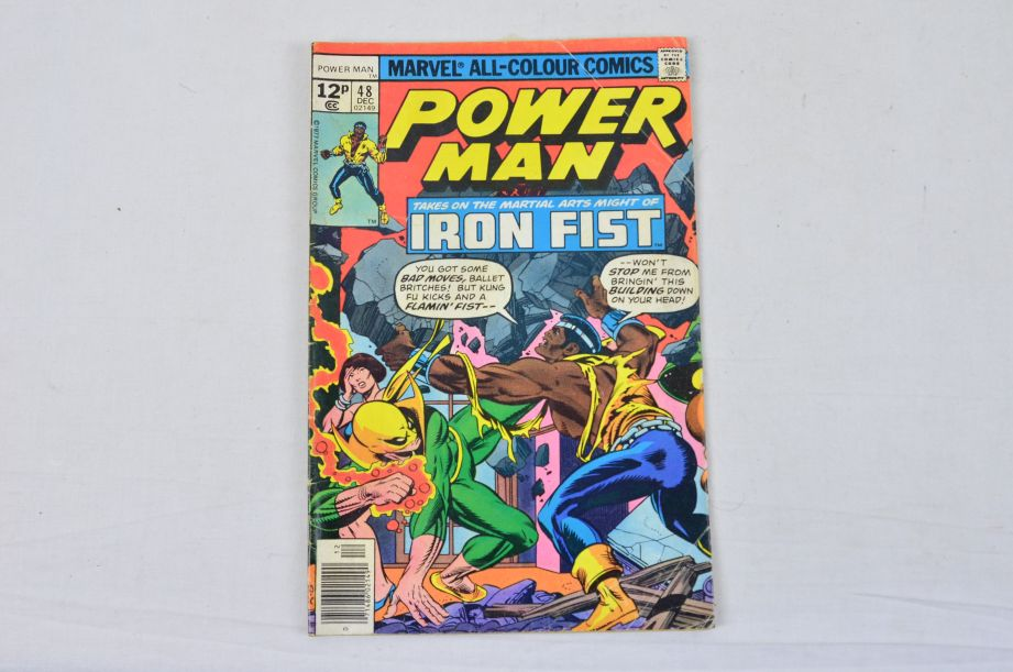 Vintage Marvel Comics Group Kull The Conqueror Power Man The Thing Collectable 2