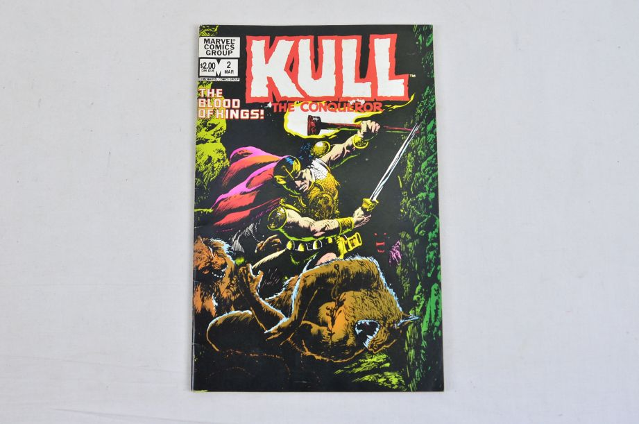 Vintage Marvel Comics Group Kull The Conqueror Power Man The Thing Collectable 4