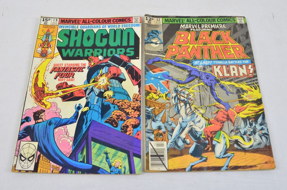 Vintage Marvel Comics Group Shogun Warriors Black Panther Collectable Comic