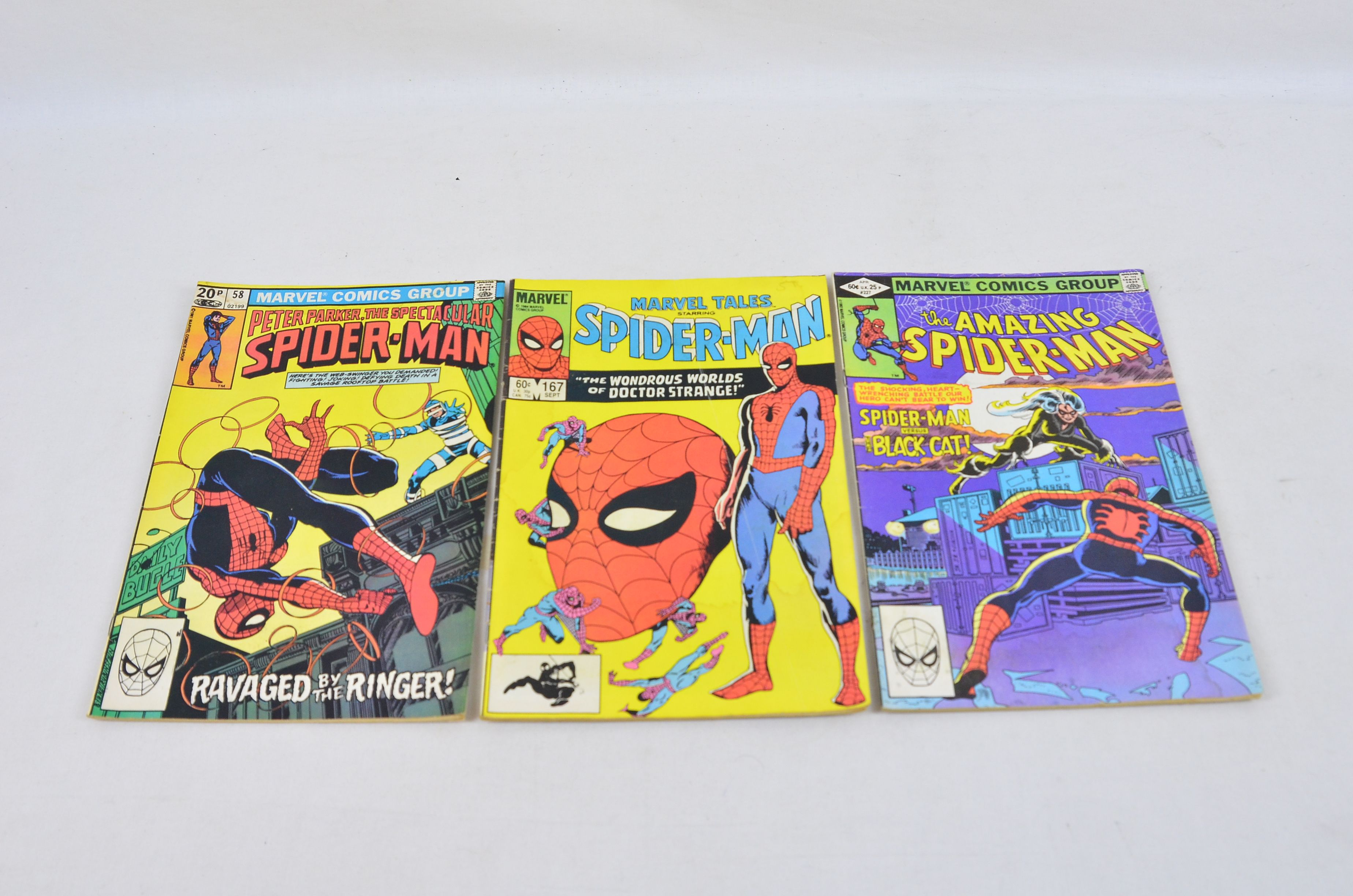 Vintage Marvel Comics Group Peter Parker, The Spectacular Spider-Man Collectable