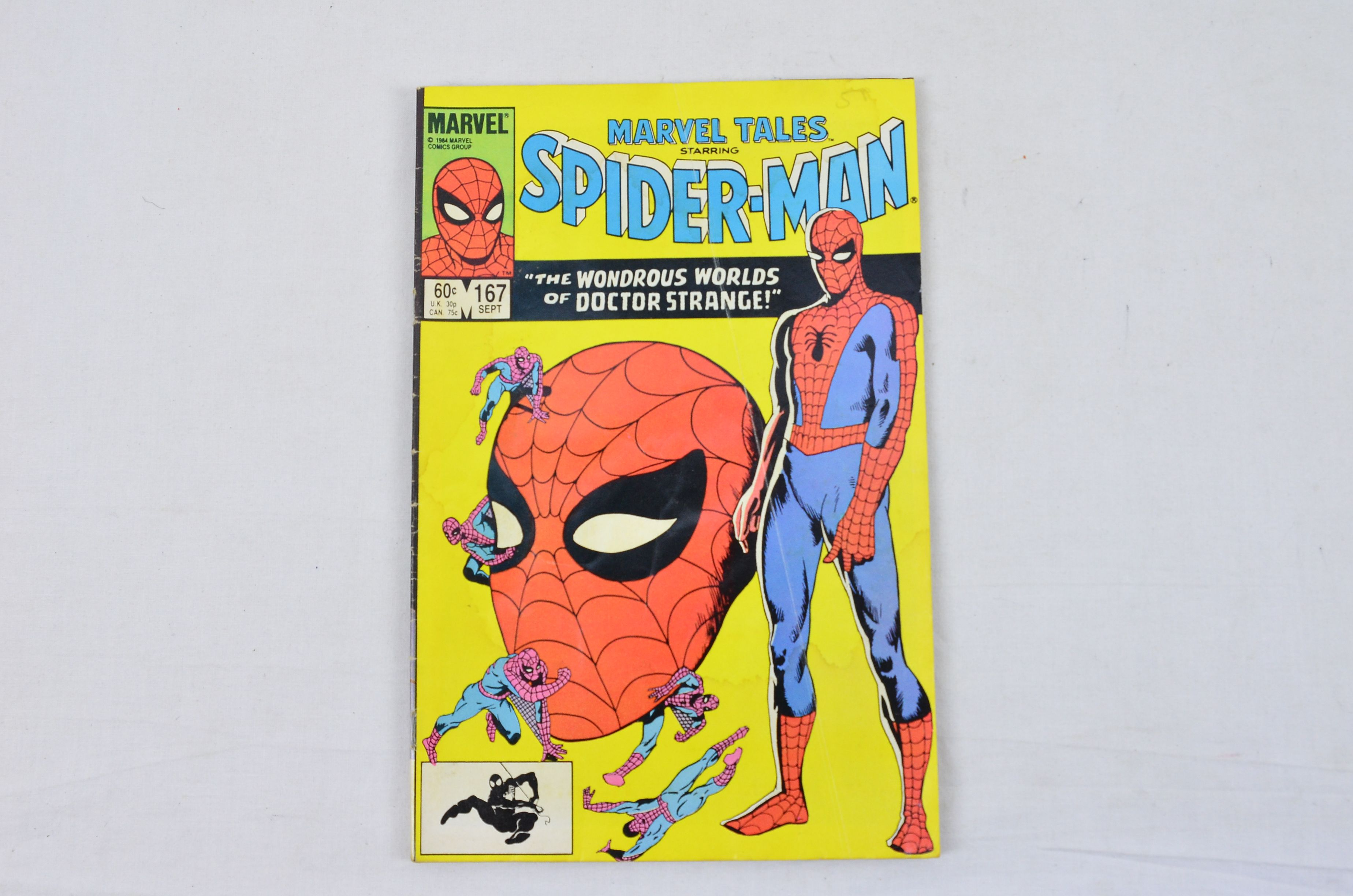 Vintage Marvel Comics Group Peter Parker, The Spectacular Spider-Man Collectable 3