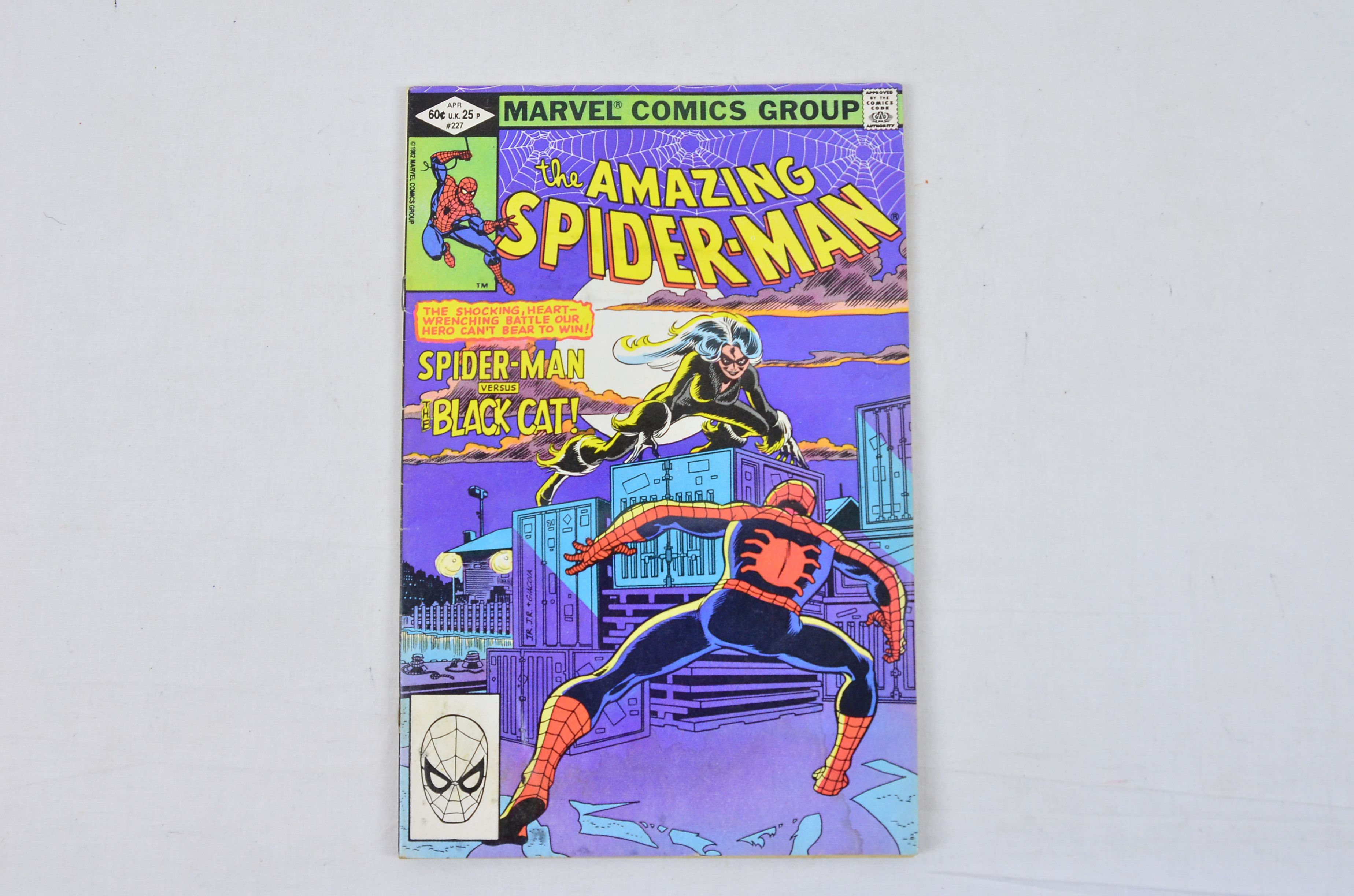 Vintage Marvel Comics Group Peter Parker, The Spectacular Spider-Man Collectable 4