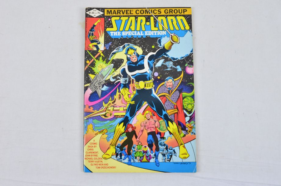 Vintage Marvel Comics Group Star-lord John Carter Warlord Of Mars Collectable 2