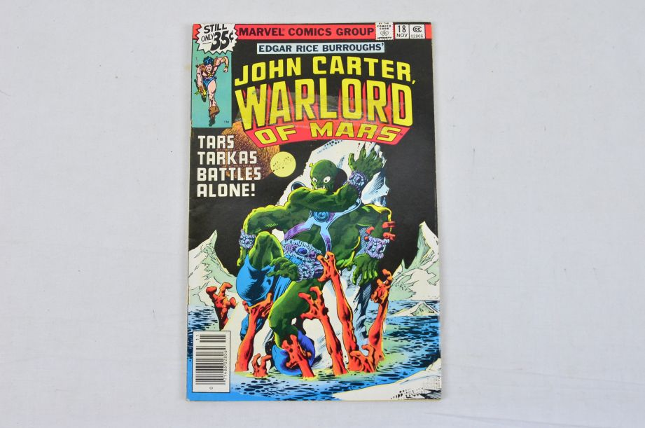 Vintage Marvel Comics Group Star-lord John Carter Warlord Of Mars Collectable 3