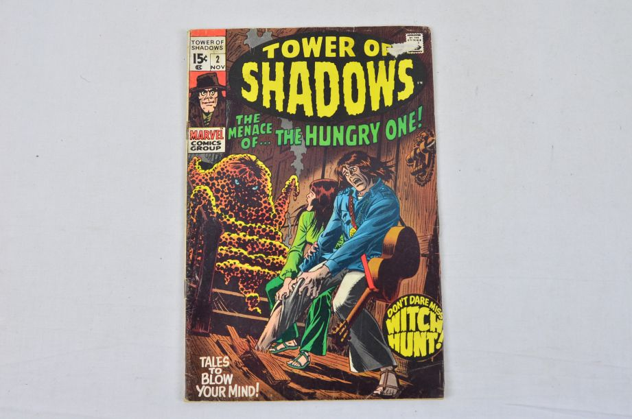 Vintage Marvel Comics Group Tower Of Shadows Collectable Comic